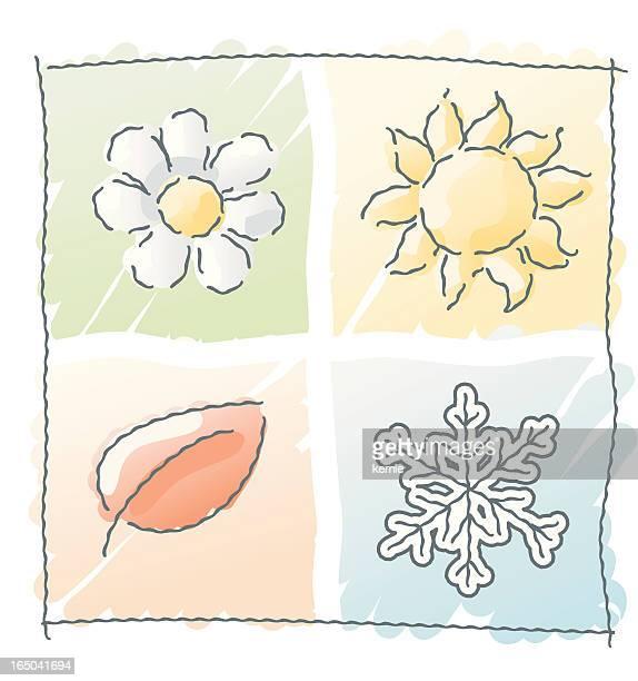 scribbles:seasons