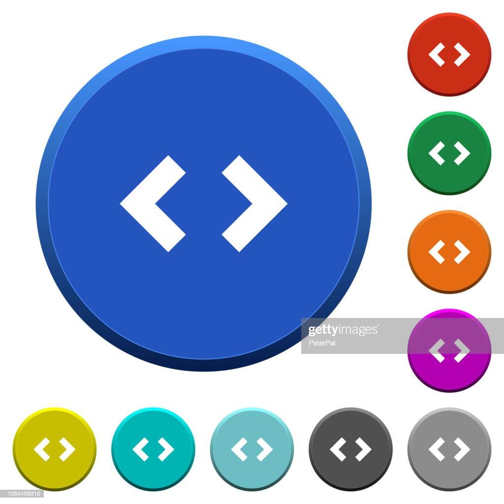 Script code beveled buttons