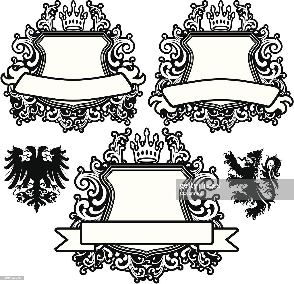 Scroll Coat of Arms