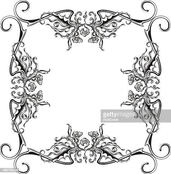 scroll_frame - scrollen stock illustrations
