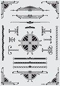 Scrolls, Dididers & Corners - Illustration
