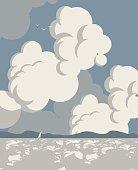 sea Landscape sky