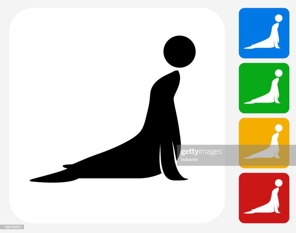 Sea Lion Icon Flat Graphic Design