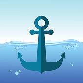 Sea Metal Anchor