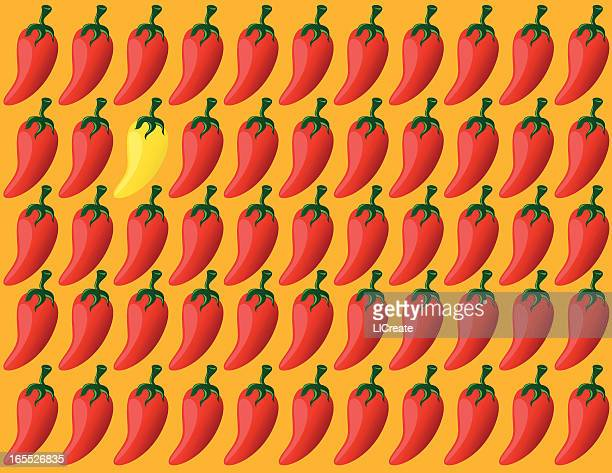 Sea of Chili Peppers