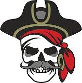 sea pirate emblem