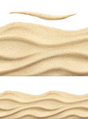 Sea sand, seamless vector pattern
