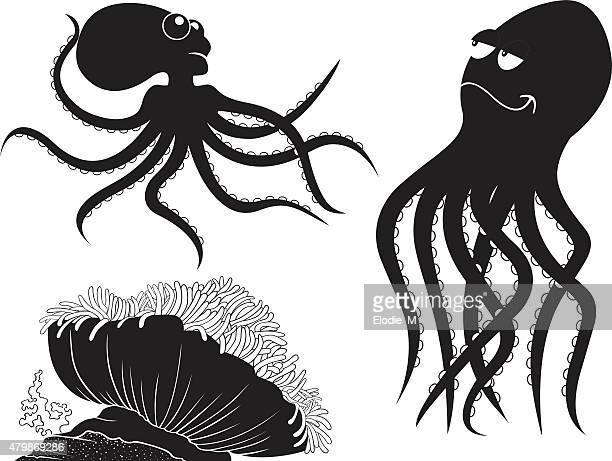 Sea silhouettes/Silhouettes de la mer