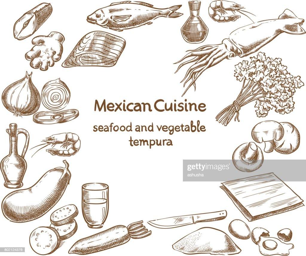 Seafood and Vegetable Tempura