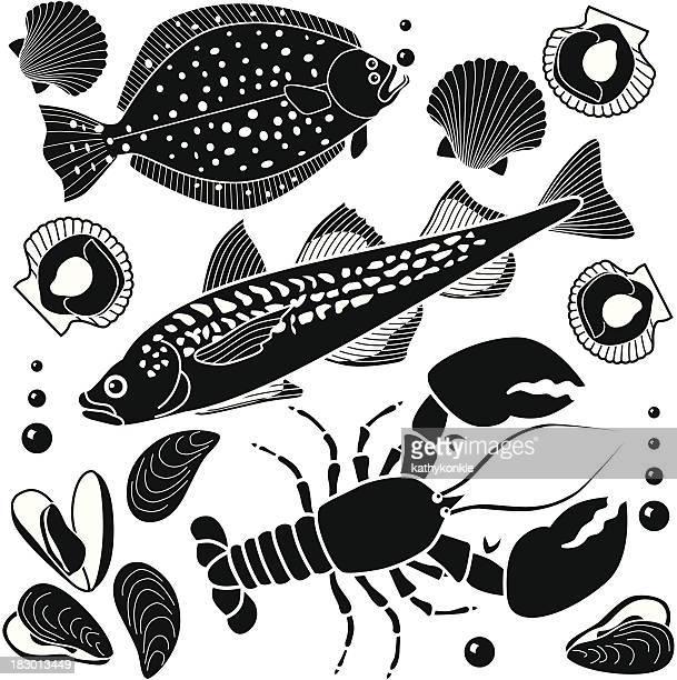 seafood design elements
