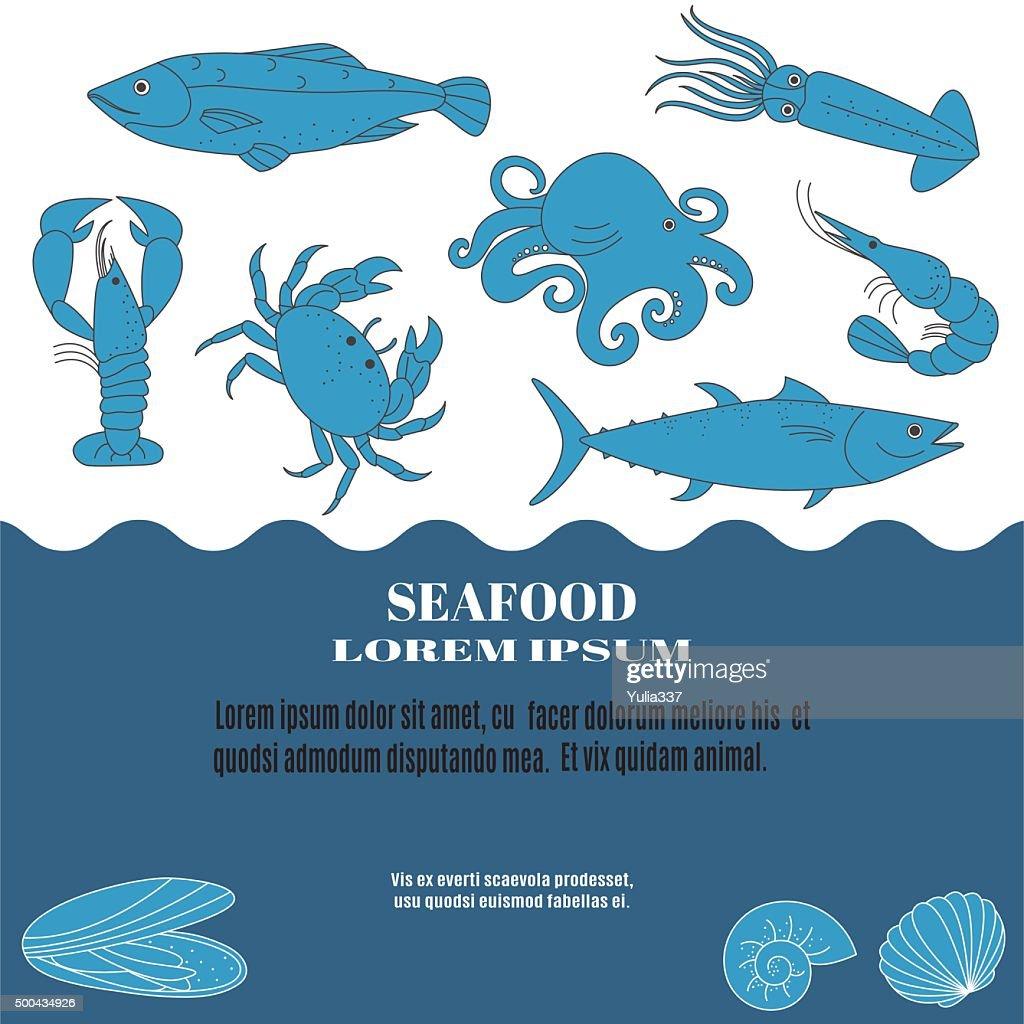 Seafood template