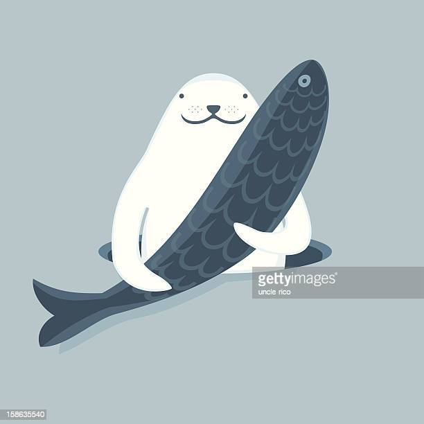 Seal that keeps the fish character