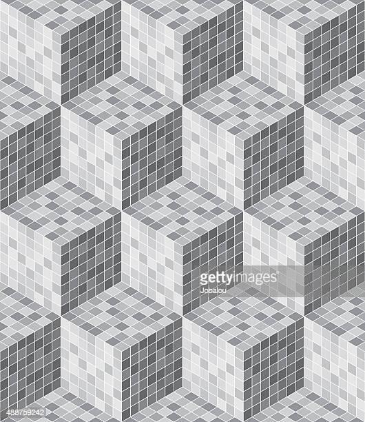 Seamless 3D cubes