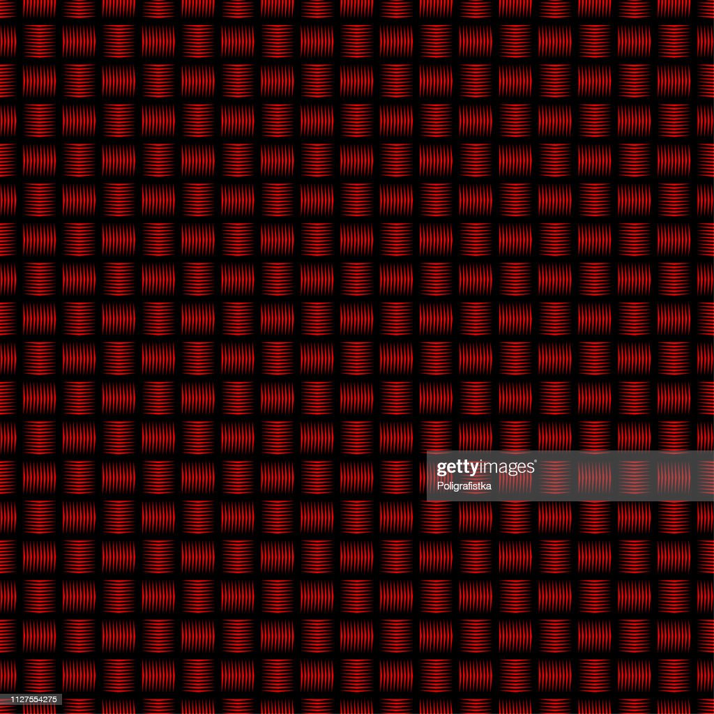 Seamless Abstract Background Pattern Black Red Wallpaper Vector Illustration High Res Vector Graphic Getty Images