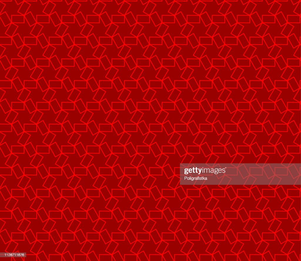 Seamless Abstract Background Pattern Red Wallpaper Vector Illustration High Res Vector Graphic Getty Images