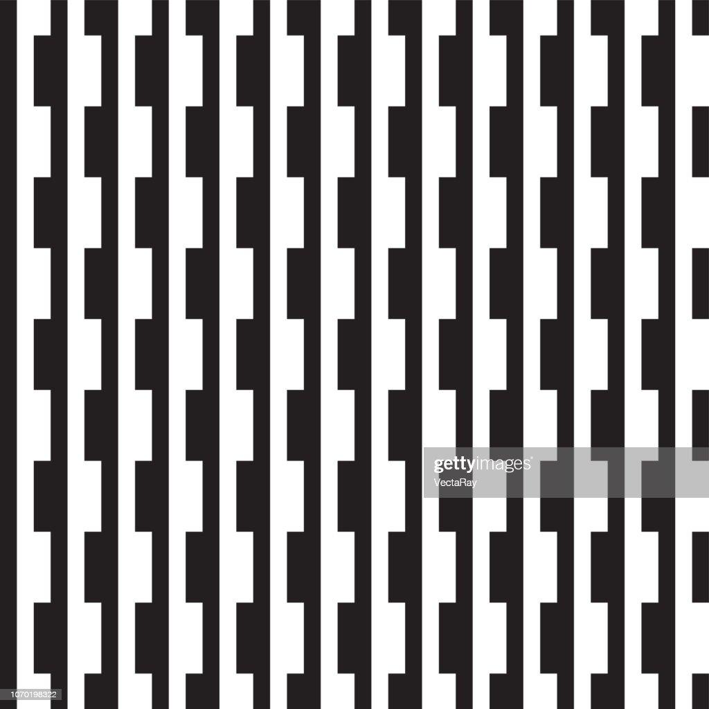 Seamless abstract geometric weave pattern