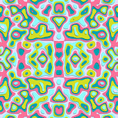 Seamless abstract pattern in vector