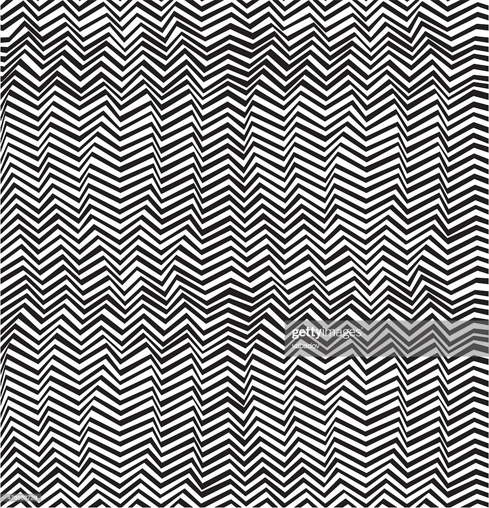 Seamless abstract stripe pattern