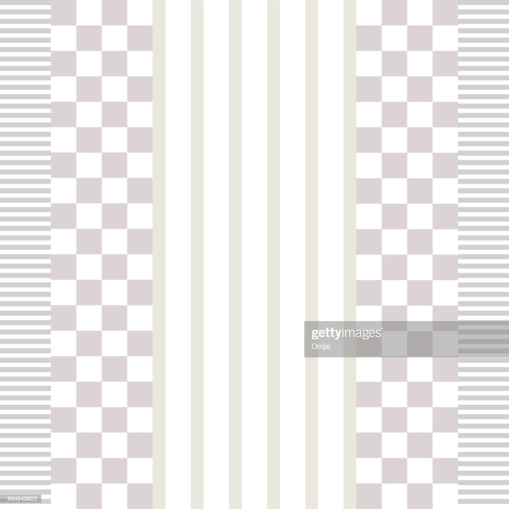 Seamless abtract vintage pattern, vector textured background