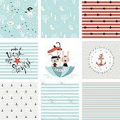Seamless and Prints Set