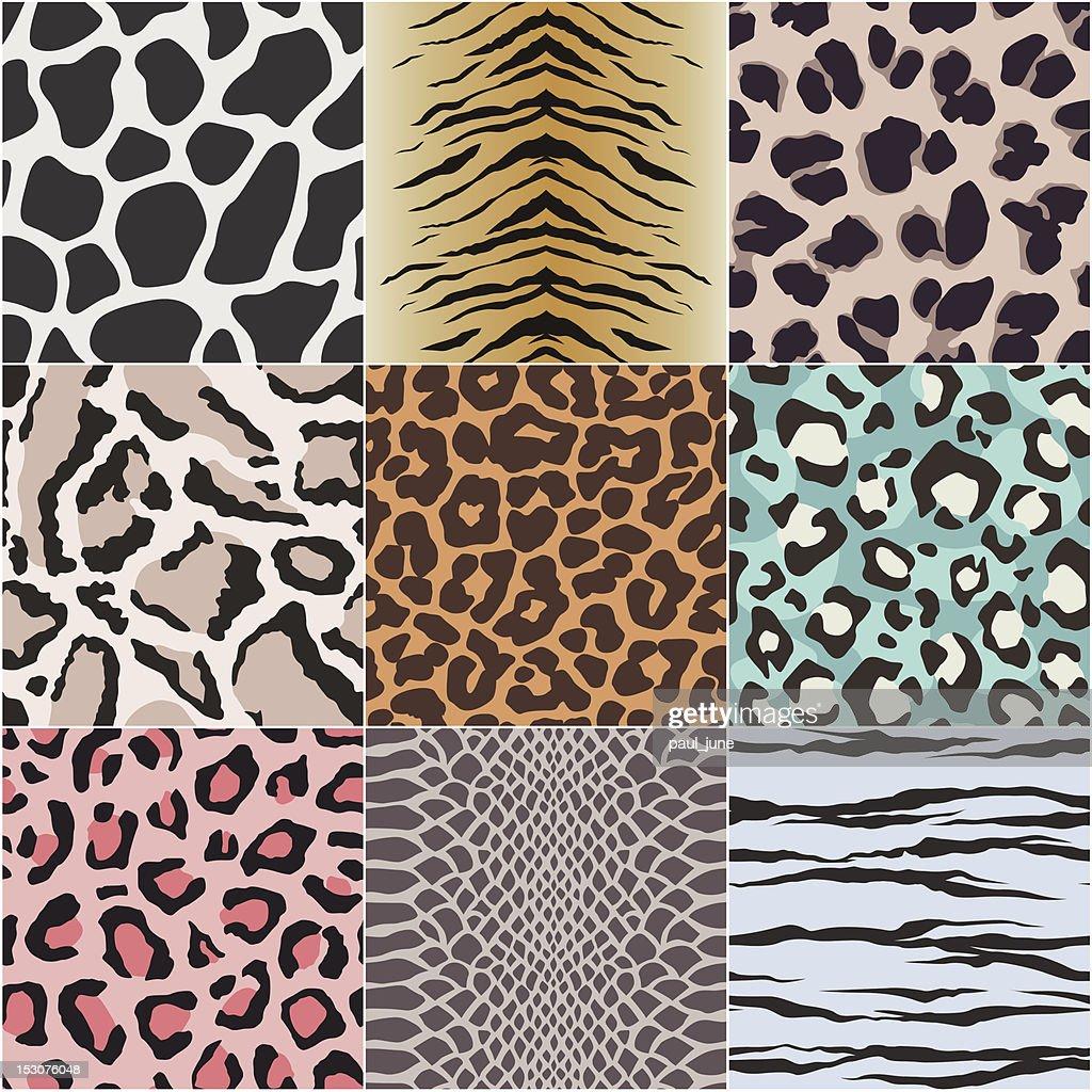 seamless animal skin