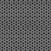 Seamless Art Deco geometric triangle pattern background