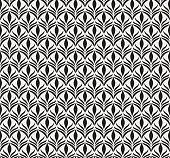 Seamless Art Deco Pattern. Vintage minimalistic background. Abstract Luxury Illustration.
