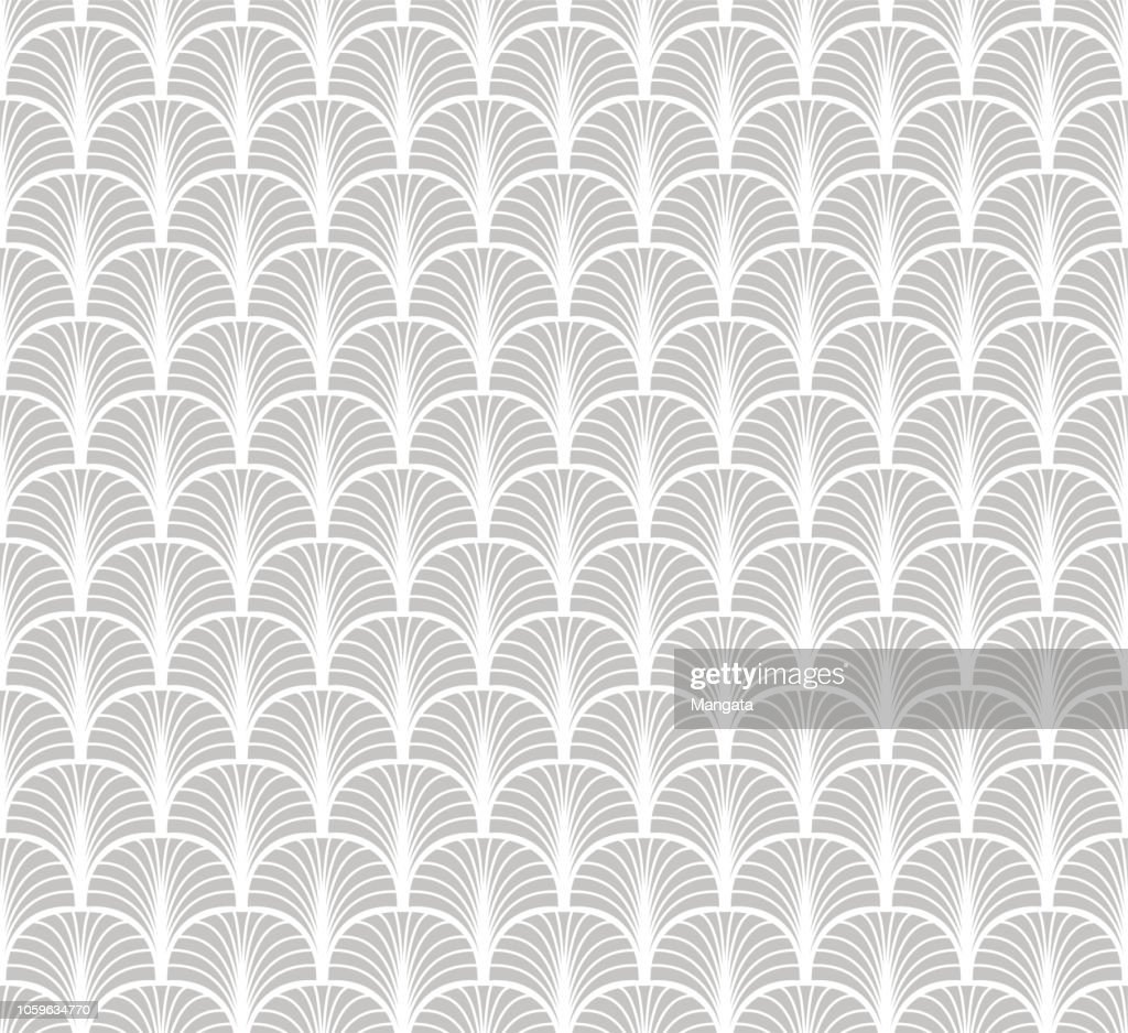 Seamless Art Deco Pattern. Vintage minimalistic background. Abstract Luxury Illustration.