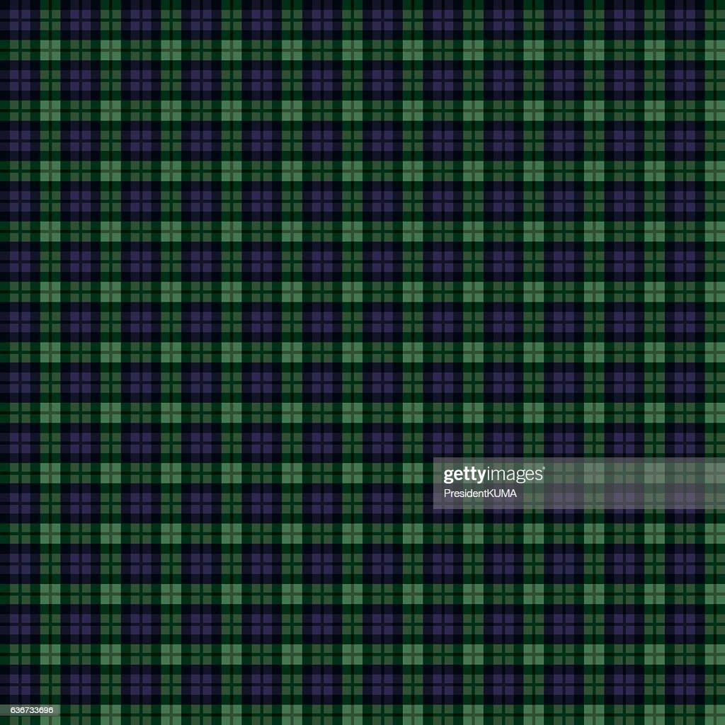 Seamless background of tartan check pattern