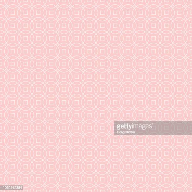 seamless background pattern - pink wallpaper - vector illustration - pink background stock illustrations