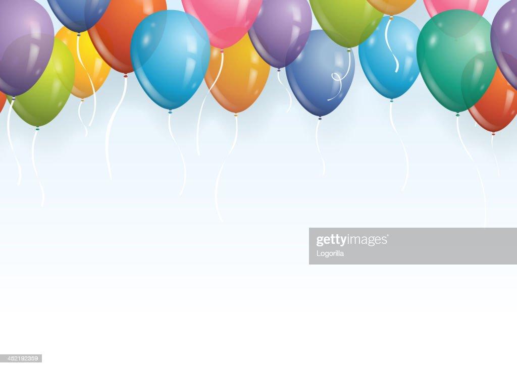 Seamless balloon background