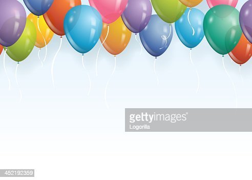 Seamless Balloon Background Vector Art | Getty Images