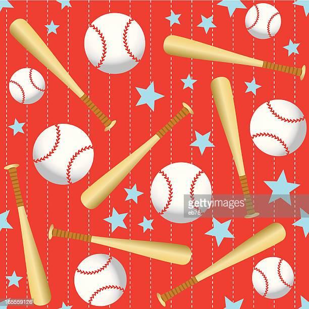 シームレスな野球の背景