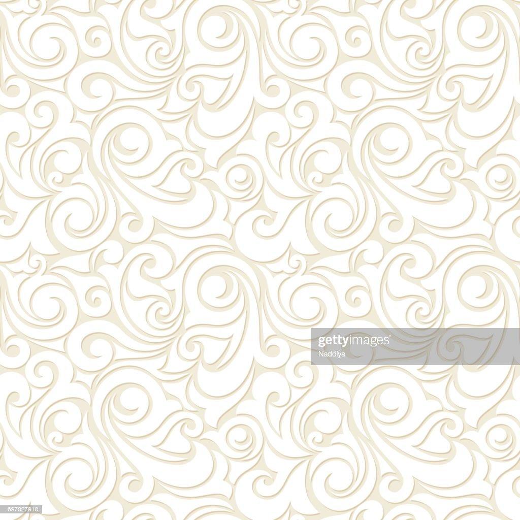 Seamless beige pattern. Vector illustration.