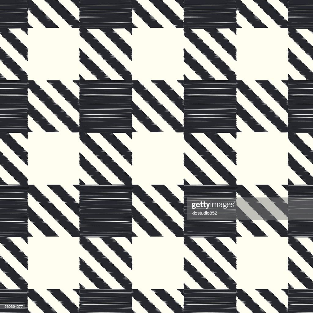 seamless black and white checkered pattern