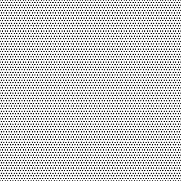 seamless black dots - white background - vector illustration - vector stock illustrations