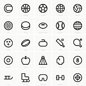 Seamless black icons of sports elements in white background