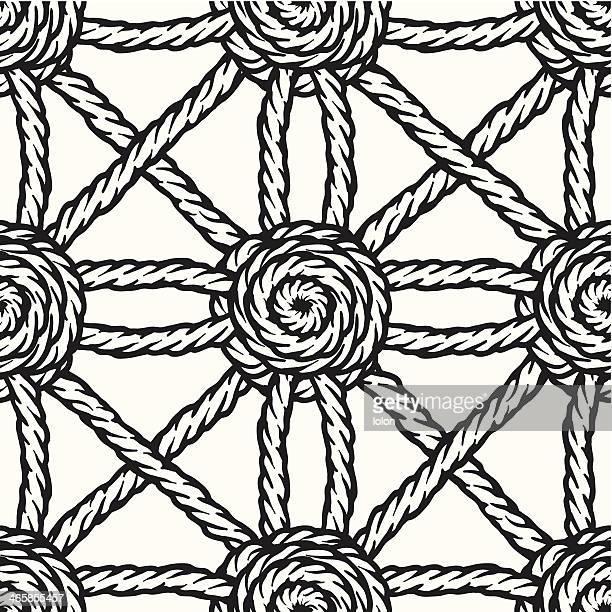seamless braided rope background
