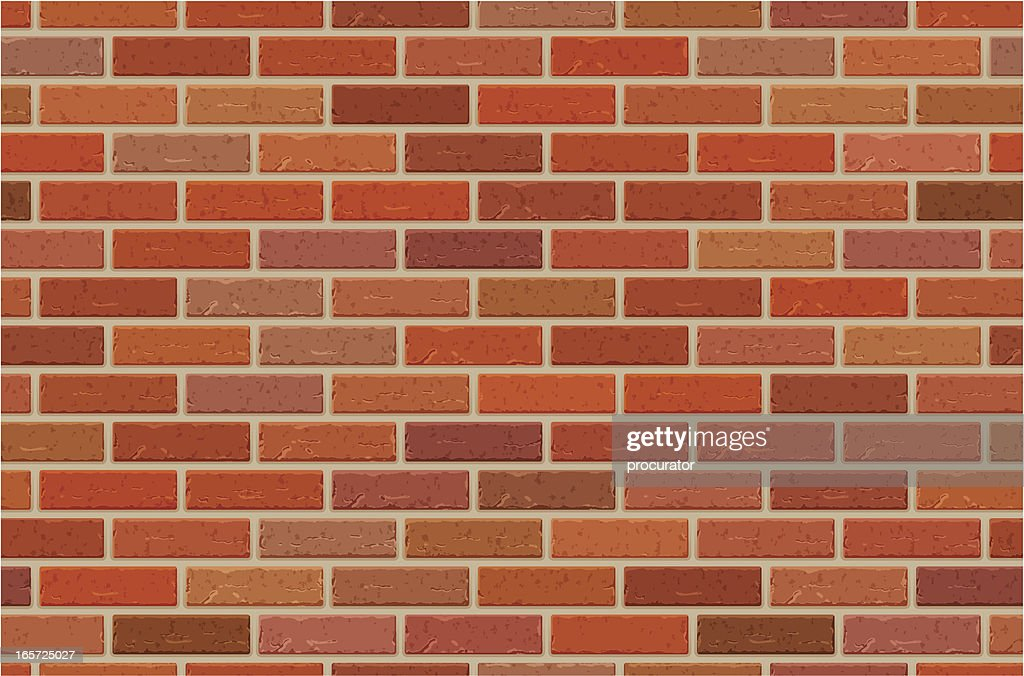 Seamless brick wall pattern