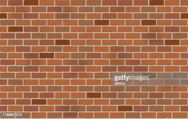 シームレスなレンガの壁 - 煉瓦点のイラスト素材/クリップアート素材/マンガ素材/アイコン素材