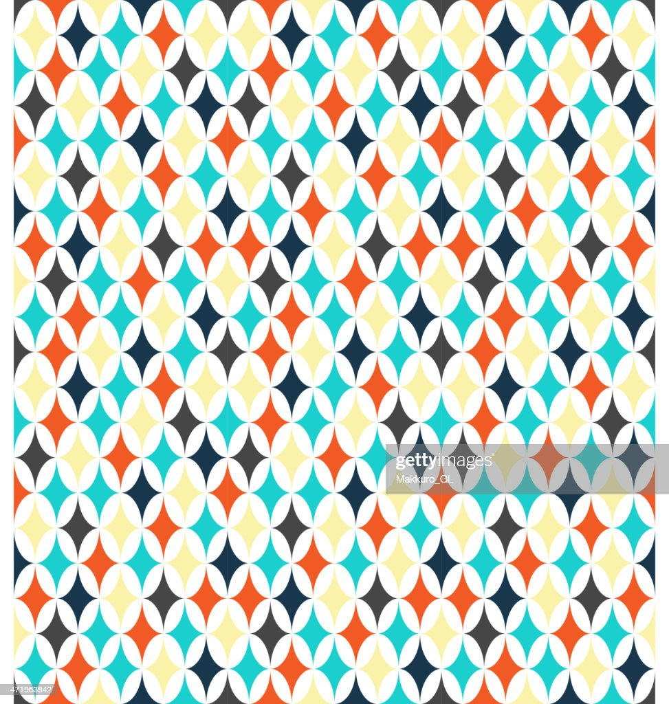 Seamless bright abstract pattern
