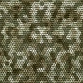 Seamless camouflage grid background