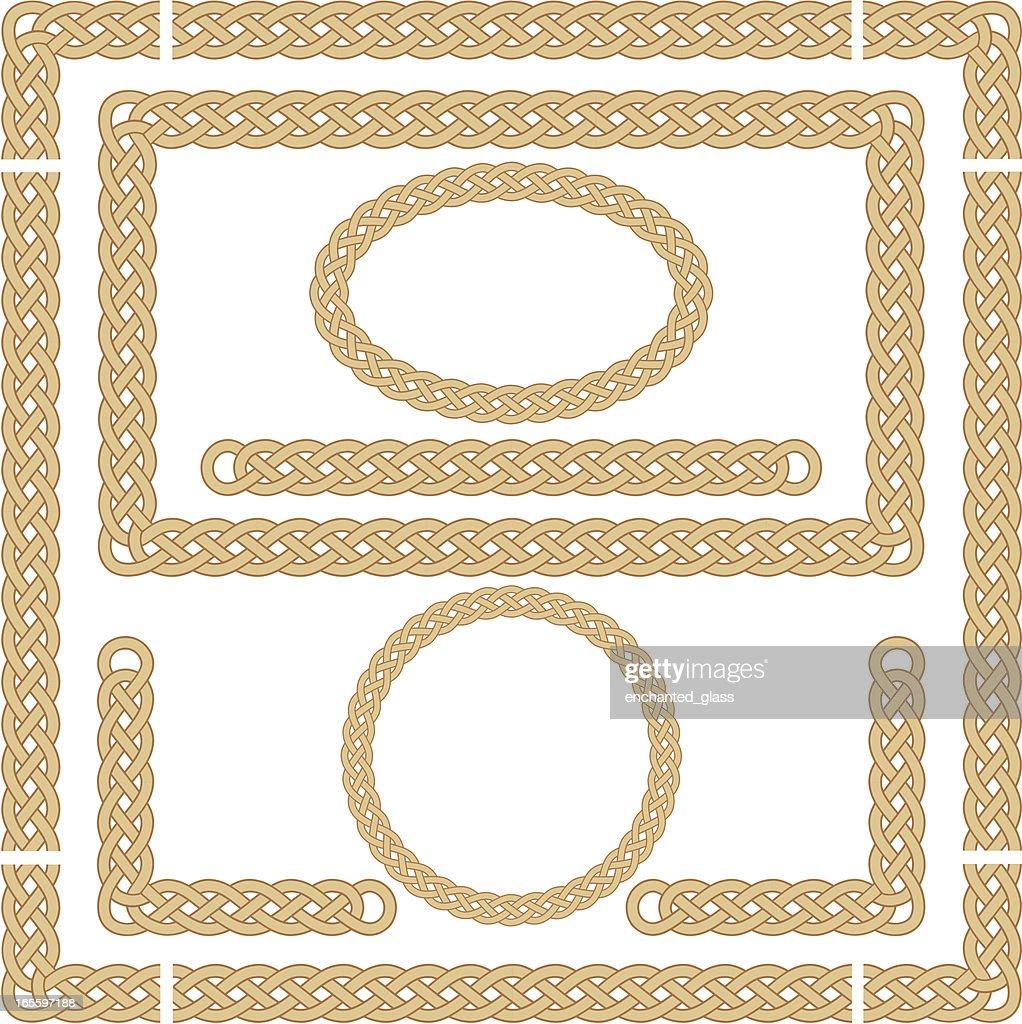 Seamless Celtic Knot Frames