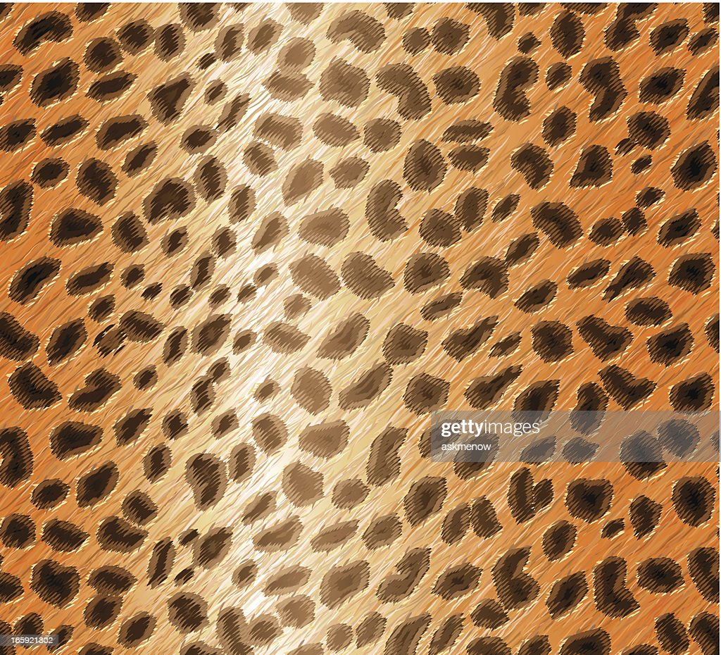 Seamless cheetah skin pattern