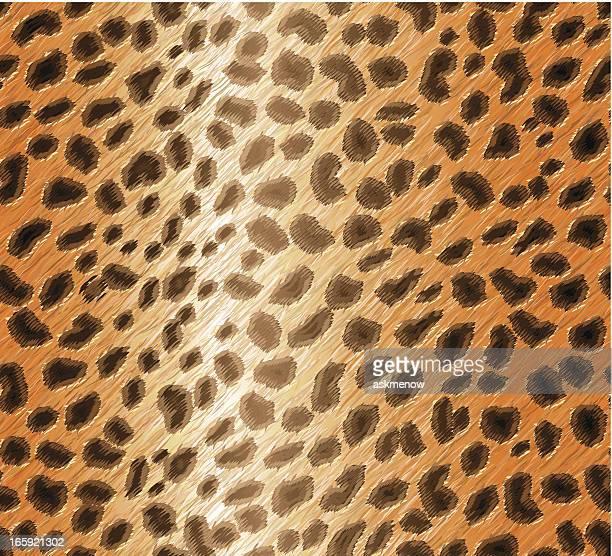 Seamless cheetah skin pattern