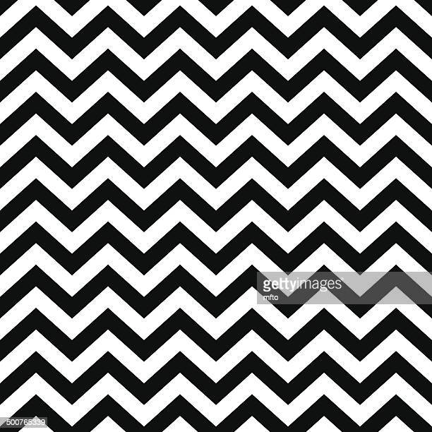 seamless chevron pattern - zigzag stock illustrations, clip art, cartoons, & icons