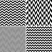 Seamless chevron patterns