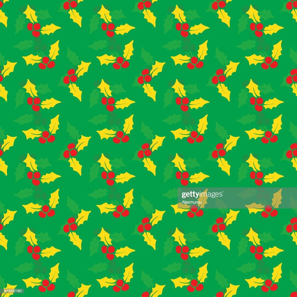 Seamless christma pattern