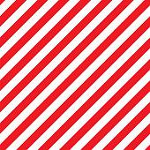 Seamless Christmas Stripe Pattern. Vector Image.