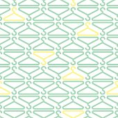 seamless colorful clothe hanger pattern background